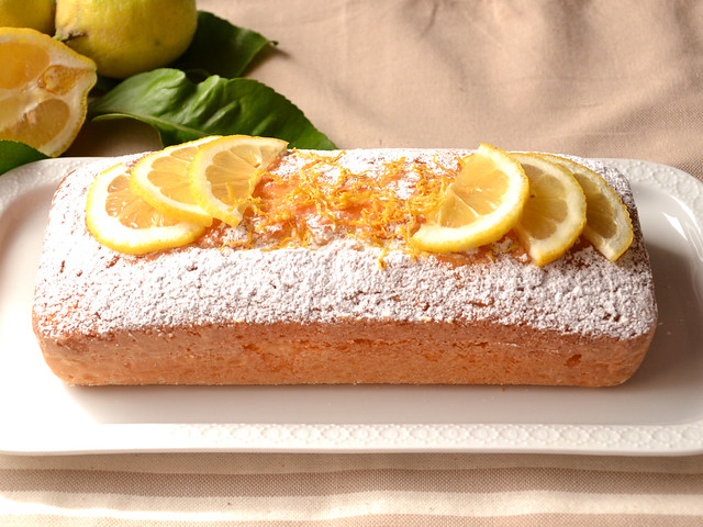 Plum Cake al Limone: Ricetta Bimby