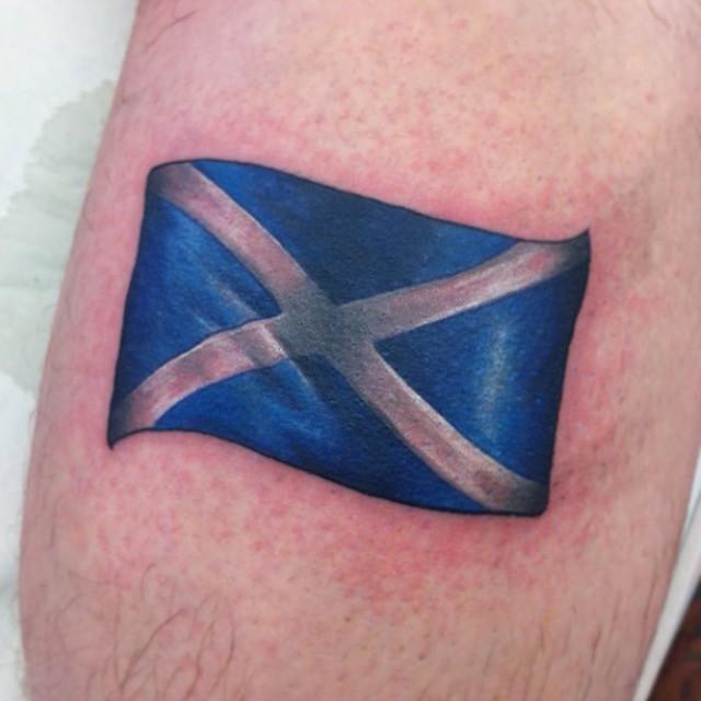 scotland flag tattoo melina villaverde tattoo artist www l flickr rh flickr com scottish canadian flag tattoo scottish canadian flag tattoo