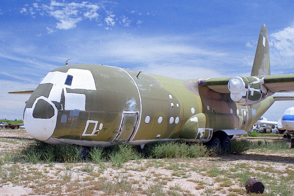 19th Production C 130a 54 1632 Excluding The Two Yc 130