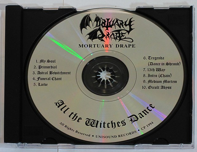 MORTUARY DRAPE - ALL THE WITCHES DANCE (CD)