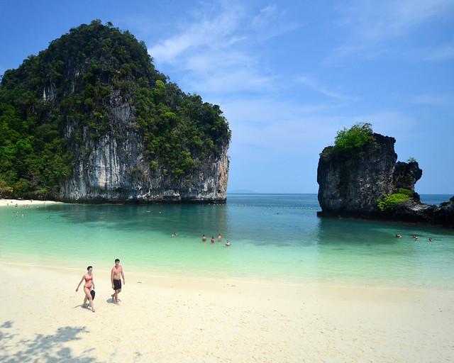 Playa de Koh Hong en Tailandia