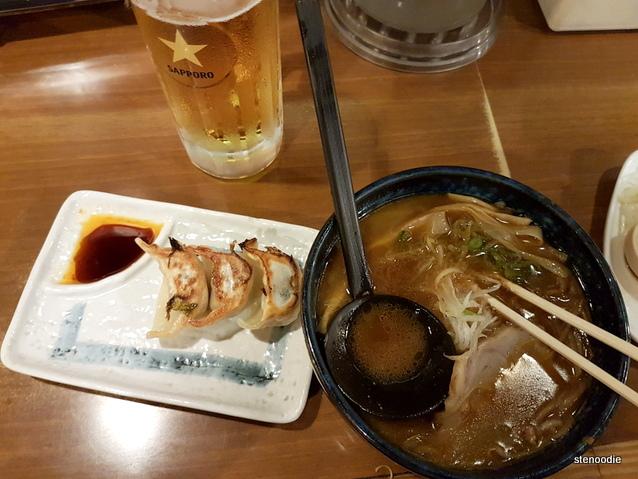 Ramen in Sapporo