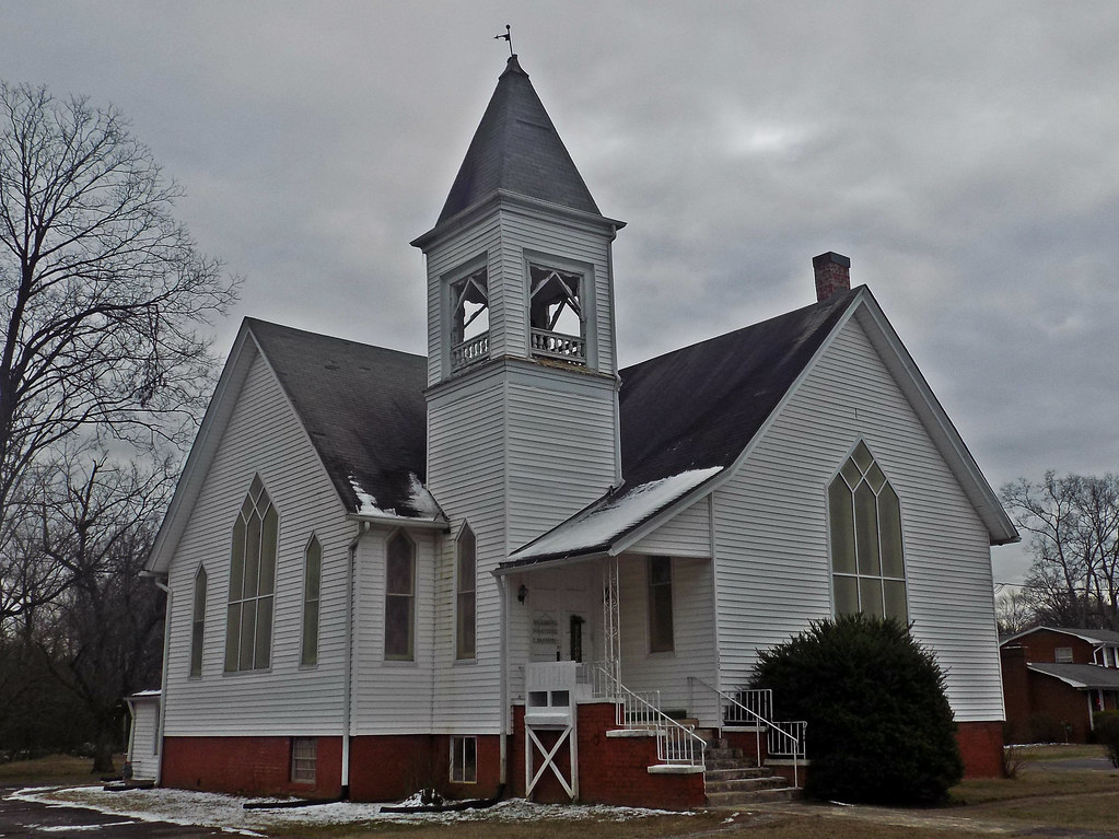 Former Loy Methodist Church -- New Market, Tennessee