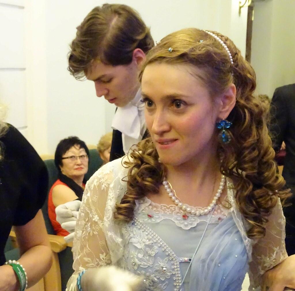 Екатерина Громова - ведущая Императорского Бала.