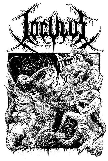Vincent Locke & Mark Riddick collab piece for Loculus