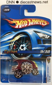 2006 Hot Wheels, Cyclops , 2006 First Editions 9/38