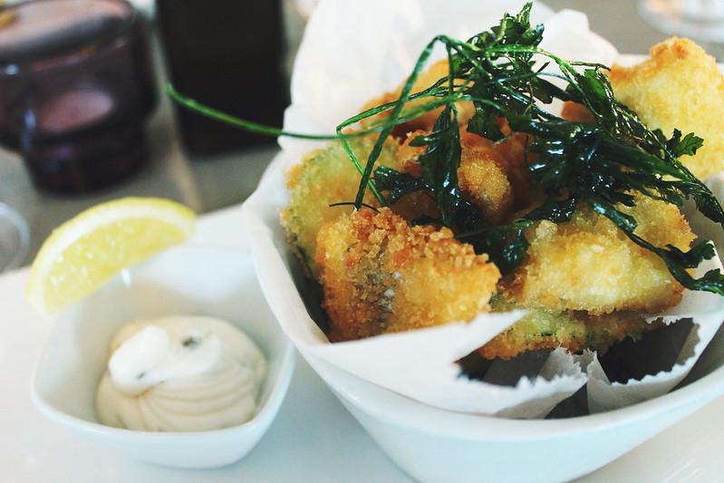 Fish Fritti with Tartare sauce Strada London