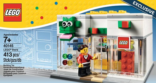Get a LEGO Brand Retail Store (40145) Set at Providence, RI Store ...