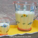 Zitronen-Buttermilch hausgemacht