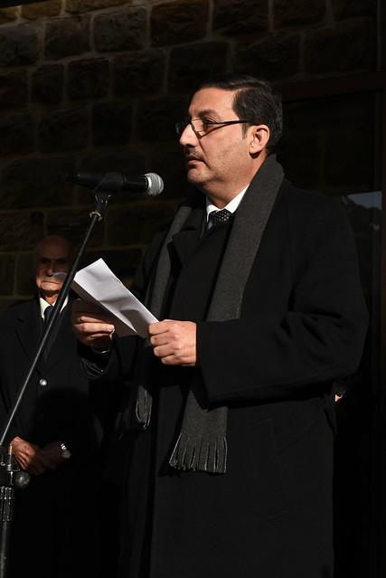 كلمة المجلس الأعلى يلقيها رئيس المجلس الرفيق حسن الحسن