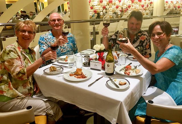 Dinner with Ken & Linda
