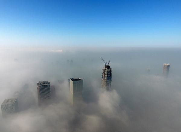Experts ' views on the Beijing-Tianjin-Hebei haze: 70% pollution rolling by weather conditions, terrain is bad