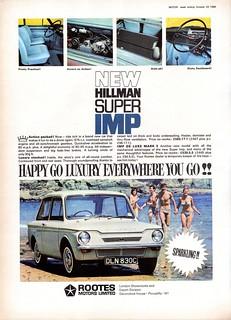 1966 Hillman Super Imp | by aldenjewell ...