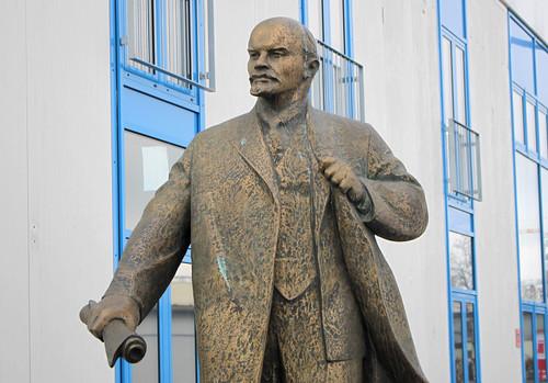 Lenin ist umgezogen mit ZAPF