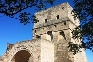 Torre a Mare. Torre Angioina front