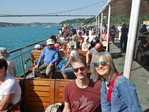 Dave and Errin on the Bosphorus | by fightgravity4evr