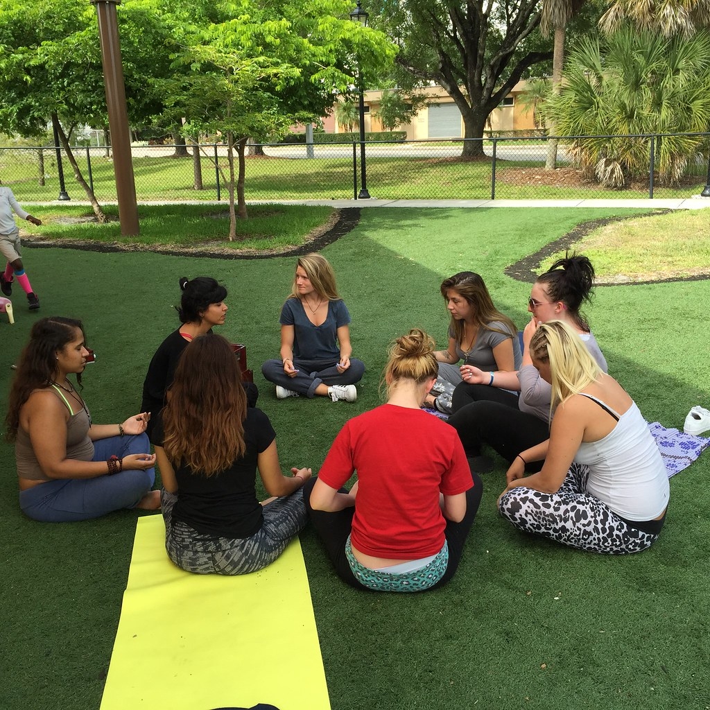 IYF teens enjoy a session of Yoga Therapy thumbnail