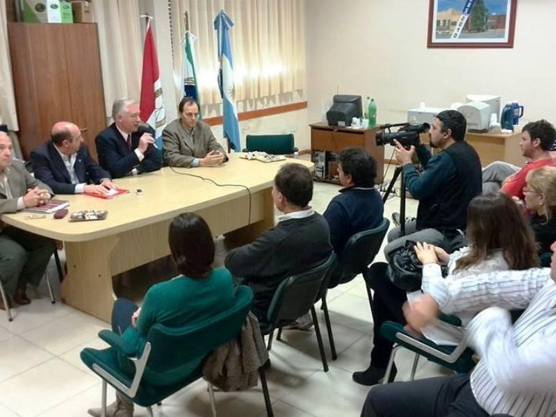 Totoras - Anuncio de la licitación para la elaboración del Proyecto Técnico del gasoducto de la Ruta 34.