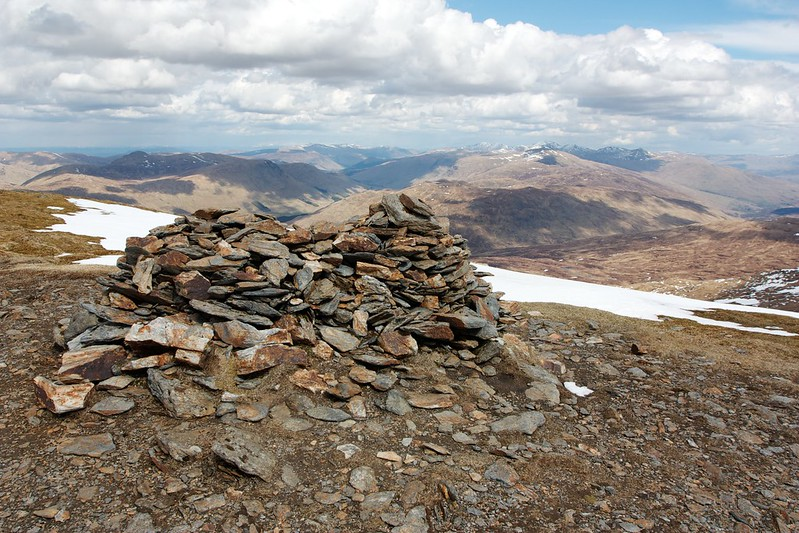 Summit of Beinn Heasgarnich