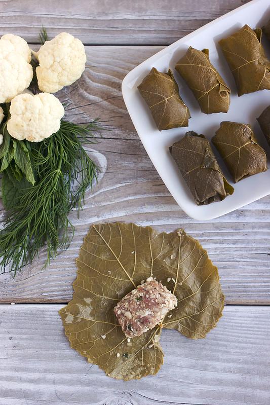 How-to Make Stuffed Grape Leaves