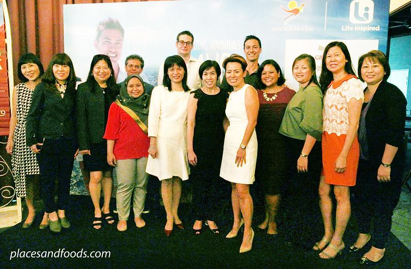 savour australia press launch malaysia vip