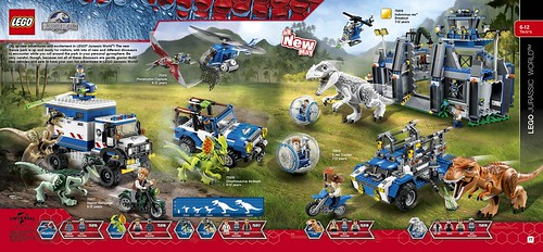 LEGO catalogue 2HY2015 Jurassic World