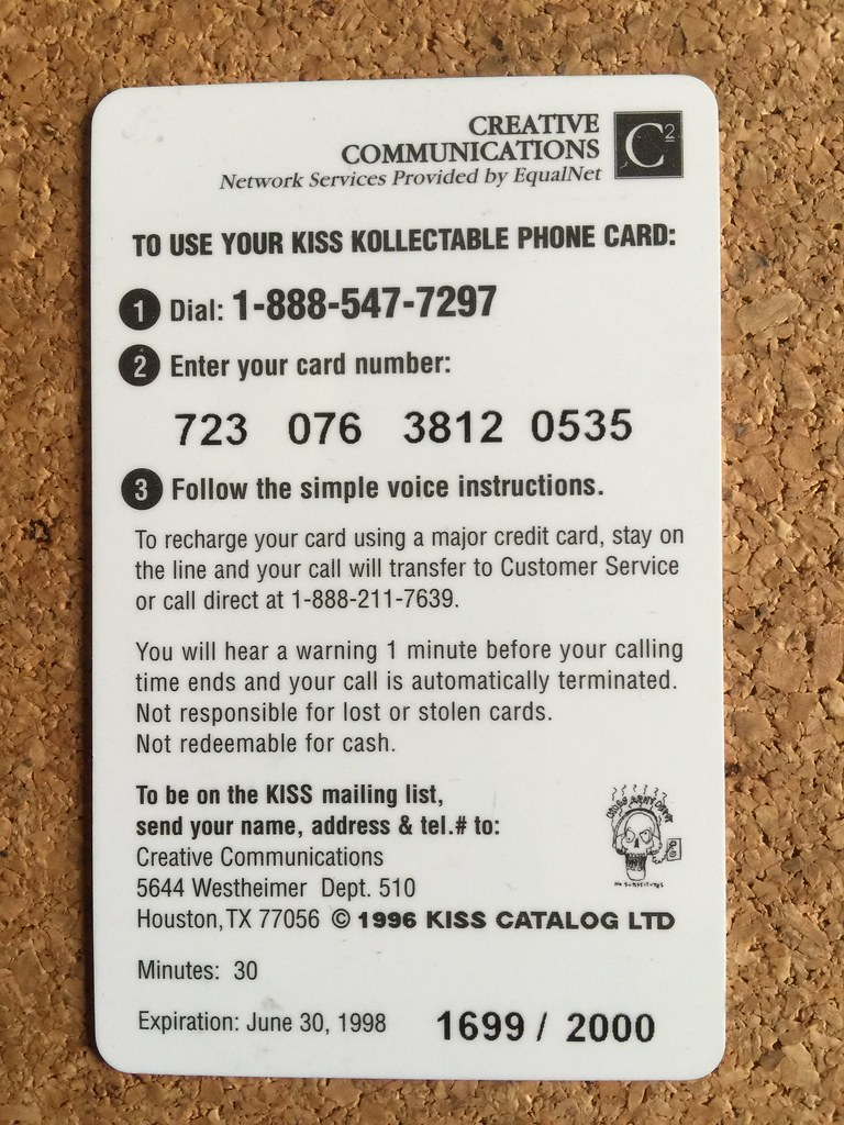 telephone call card payphone pass callcard phone card creative communications usa - Payphone Calling Cards