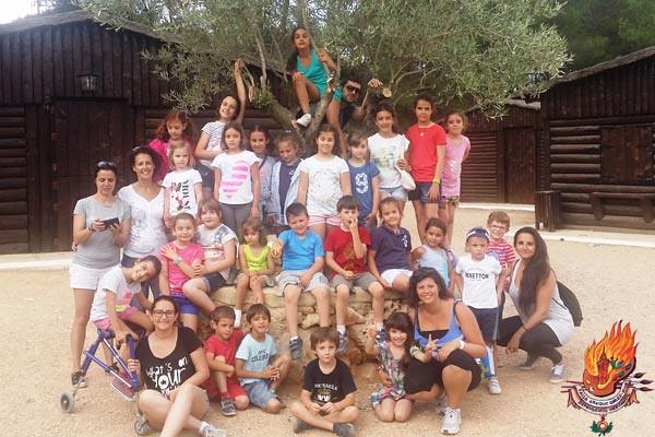 Excursión Granja Escuela - Complejo Calvestra - Falla Archiduque Carlos Chiva