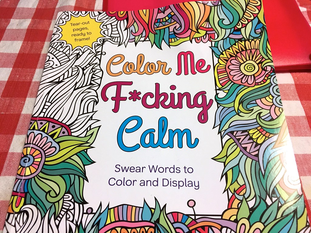 Image result for colouring in book swear