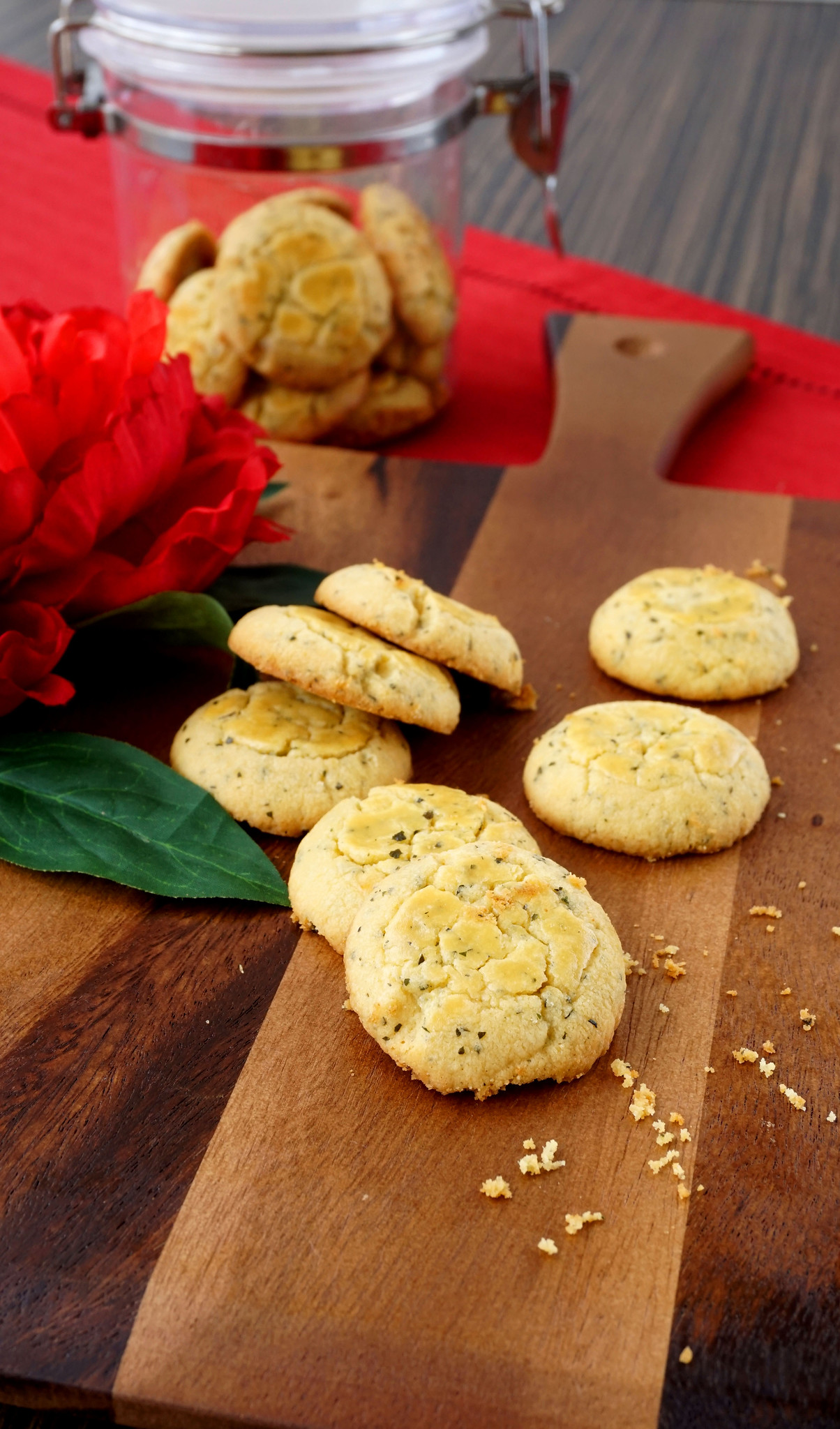 6. Salted Egg Cookies