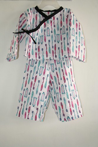 SEW-Brushy Pyjama Set