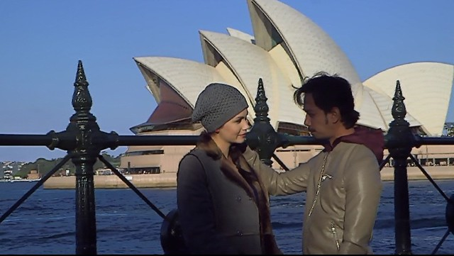 cinta antara Victoria dan Iskandar