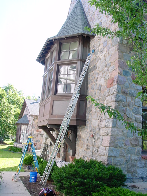 Exterior paintin, June 23, 2015