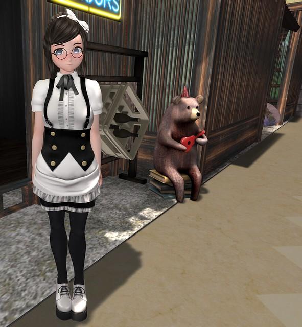 Kyomizu Hunt Mesh Maid Outfit