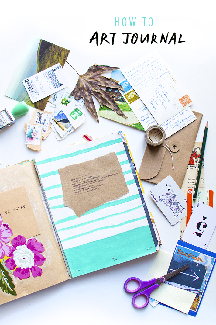 how to creative journal