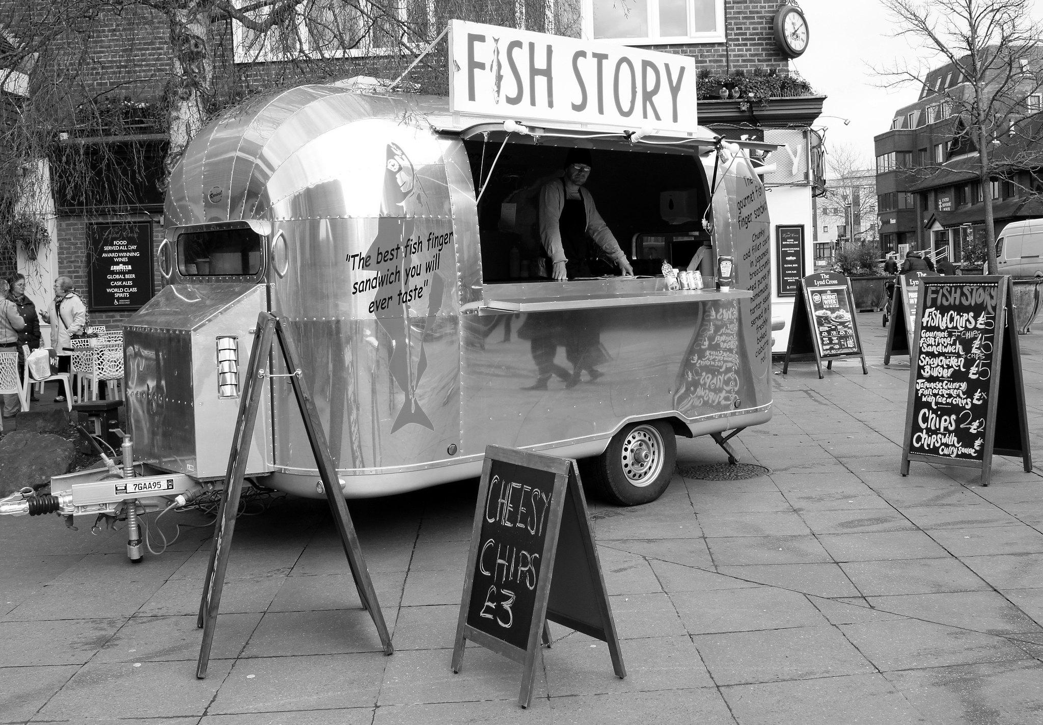 'Fish Story' in Horsham
