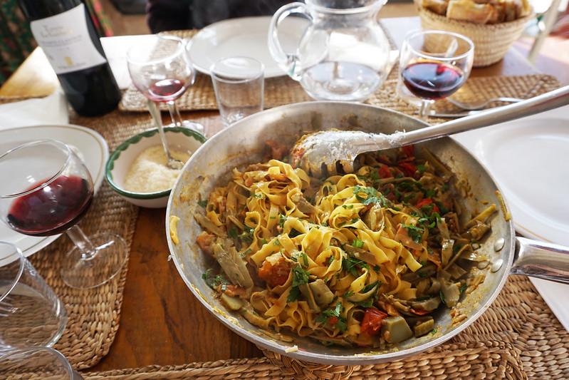 Ristomama rome pasta making class