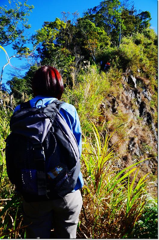 1734峰西南稜瘦稜 1
