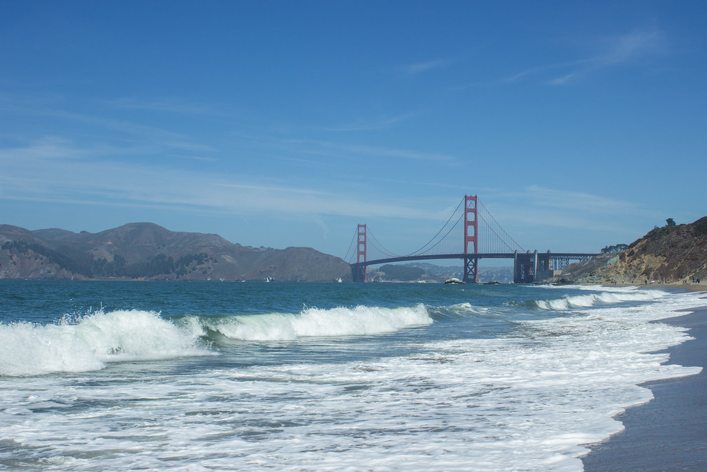 The Golden Gate Bridge from Baker Beach