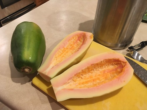 papaya for Kauai Tropical Stout