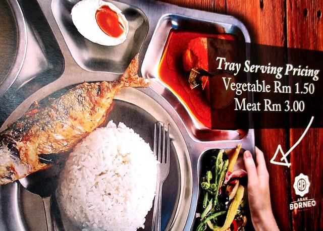 Anak Borneo In a tray