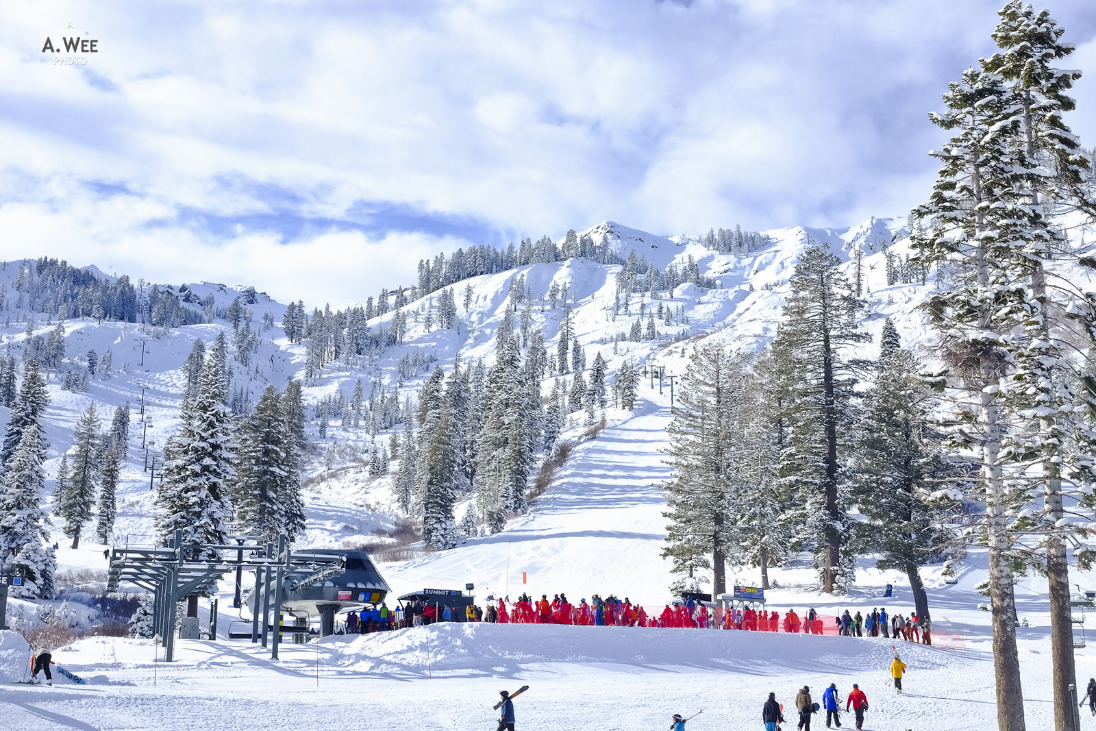 Good morning from Alpine Meadows