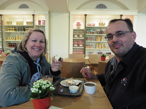 Cream tea at Kensington Palace
