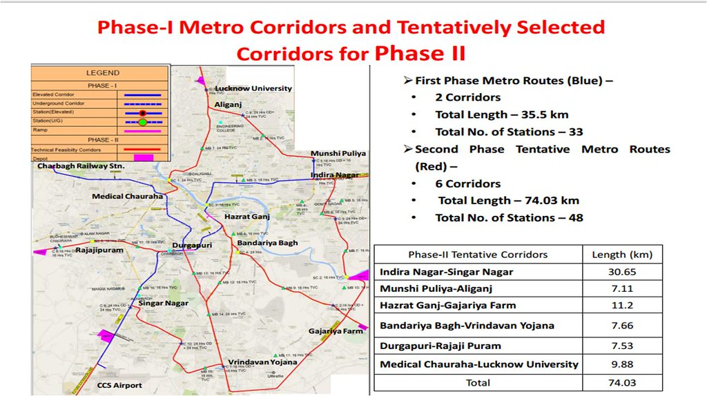 Lucknow Metro Map.Lucknow Metro Skyscrapercity
