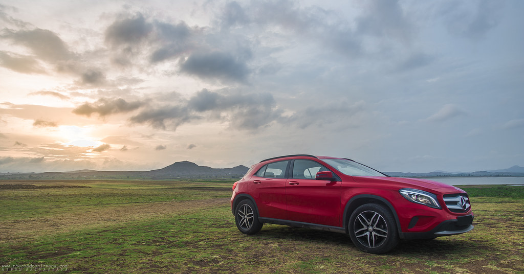 The new GLA from Mercedes Benz!
