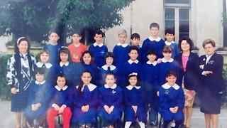 La maestra Borreggine è la prima a destra
