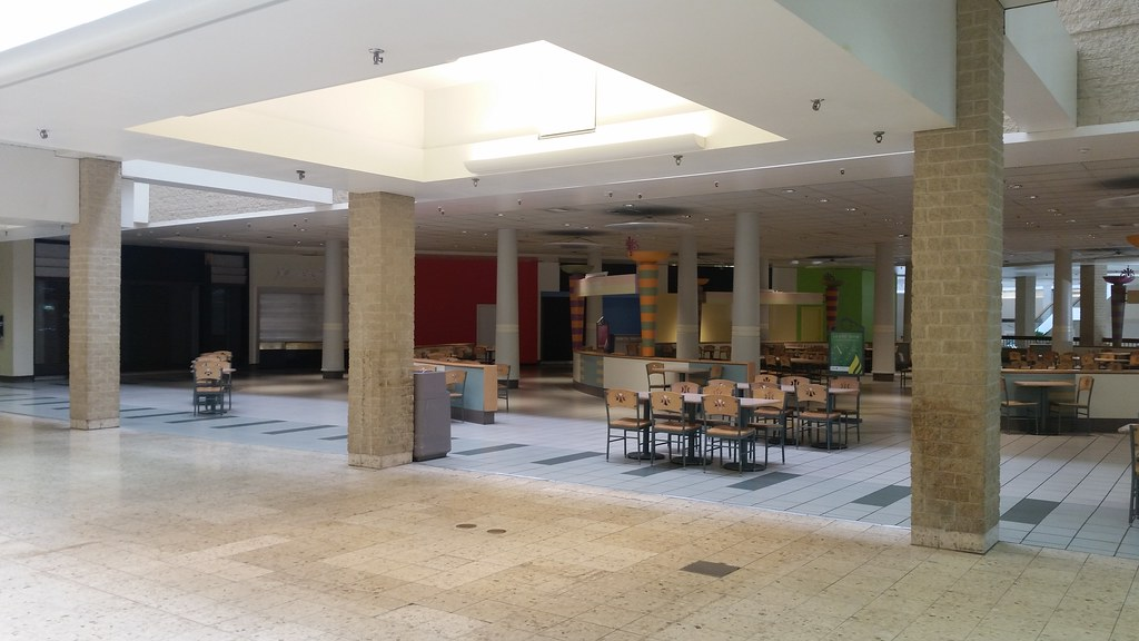 Former Food Court At The Century Iii Mall Built In 1979