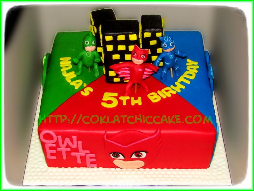 Cake Pj Mask Najla Jual Kue Ulang Tahun