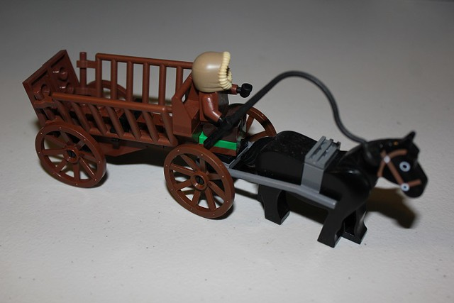 LEGO Wagons and Carts Tutorial
