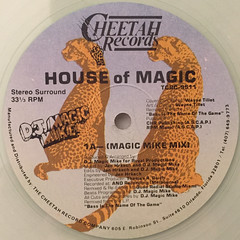 D.J. MAGIC MIKE:HOUSE OF MAGIC(LABEL SIDE-A)
